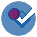 Foursquare SteelBlue icon
