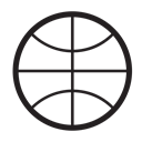 Ball, fitness, Game, play, Basketball Black icon