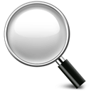 magnifying, search icon, glass, engine Black icon