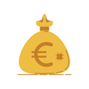 Currency, Bank, Coins, Money, graphic, Business, banking SandyBrown icon