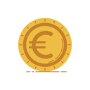 graphic, coin, banking, gold, Money, Currency, Business SandyBrown icon
