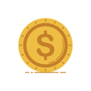 graphic, Business, Bank, Currency, banking, Money, coin SandyBrown icon