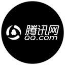 Contact, Email, qq.com, Address book, Circle, qq, contacts Black icon