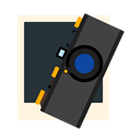photo, photocamera, photography, Leica DarkSlateGray icon