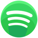 Communication, network, Social, media, Streaming, online, Spotify MediumSeaGreen icon