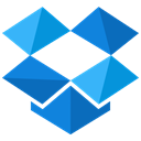 online, Social, network, storage, media, dropbox DodgerBlue icon