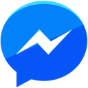 Messenger, media, Facebook, network, Communication, Social DodgerBlue icon