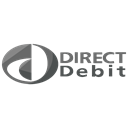 Finance, Debit, method, Logo, payment, direct, online Black icon