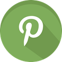 media, pinterest, Drawing, Social, picture DarkSeaGreen icon