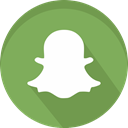 Social, Snapchat, networking, Logo, Chat, snap, smartphone DarkSeaGreen icon