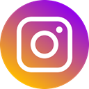 Circle, Instagram, media, 2016, network, Social, Logo, new IndianRed icon