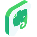 share, Evernote, media, network, internet, online, Social MediumSeaGreen icon