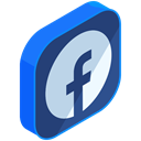 media, Facebook, internet, Social, Communication, network, online DarkSlateBlue icon
