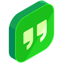 online, internet, Social, network, Hangouts, media LimeGreen icon