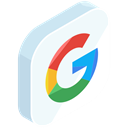 search, media, network, Social, google, online, internet AliceBlue icon