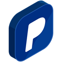 internet, paypal, network, Social, payment, online, media MidnightBlue icon