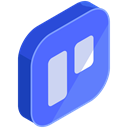network, Social, media, online, internet RoyalBlue icon