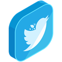 internet, Social, twitter, online, Communication, network, media DodgerBlue icon