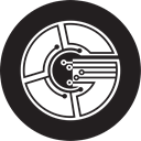 gridcoin, Grc Black icon