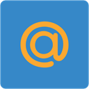 mail.ru, Address book, contacts, Email, square, Contact, Mailru SteelBlue icon