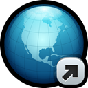 world, globe, Link, Connect, network, url Black icon