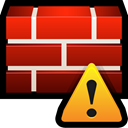 shield, Firewall, protect, safety, Alert Firebrick icon
