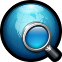 world, Find, network, search, globe, web Black icon