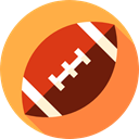 Summertime, summer, sports, Rugby Game, Rugby, Sports And Competition, sport, Rugby Ball SandyBrown icon