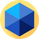 Shapes And Symbols, shapes, education, geometry, school RoyalBlue icon