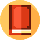education, Notebook, Address book, Business, interface, Agenda, Book, bookmark SandyBrown icon