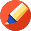 writing, Pen, education, Tools And Utensils, write, marker Tomato icon