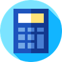 technology, Calculating, calculator, maths, education, Technological LightSkyBlue icon