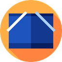 storage, file storage, Folder, interface, Files And Folders, Data Storage, Office Material MidnightBlue icon