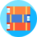 reading, Literature, Books, Book, Library, study, education LightSkyBlue icon