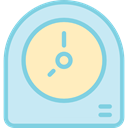 miscellaneous, watch, Tools And Utensils, time, tool, Clock PaleTurquoise icon