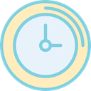 watch, tool, miscellaneous, Tools And Utensils, time, Clock AliceBlue icon