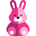 mammal, rabbit, Kid And Baby, Animals, zoo, Bunny, Fluffy, Wild Life, Animal Kingdom Black icon