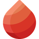 Blood Drop, donation, medical, transfusion, Health Care, Healthcare And Medical Tomato icon