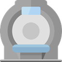 medicine, hospital, Healthcare And Medical, Scanner DarkGray icon