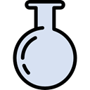 Test Tube, science, chemical, education, Flasks, Chemistry, flask Lavender icon