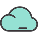 weather, Atmospheric, sky, Atmosphere, Cloud, Cloudy LightBlue icon