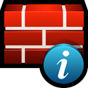 safety, shield, protect, Info, Firewall Firebrick icon