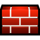 Firewall, shield, safety, Brick, protect Firebrick icon