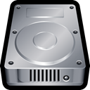 hard disk, Disk, Cloud, storage, drive, internal DarkGray icon