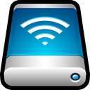 Airport, storage, drive, Wifi, External, wireless Teal icon