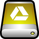 drive, Cloud, google, Disk, storage, External, docs DarkGoldenrod icon