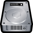 internal, storage, Disk, drive, mac DarkGray icon