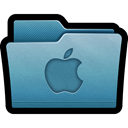 Folder, mac, osx, Apple, office SteelBlue icon