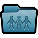 documents, mac, sharepoint, share, Folder SteelBlue icon
