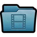 mac, documents, storage, Movies, Folder, videos, films Black icon